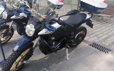 Zero DSR, las nuevas motos eléctricas de la Policía Nacional