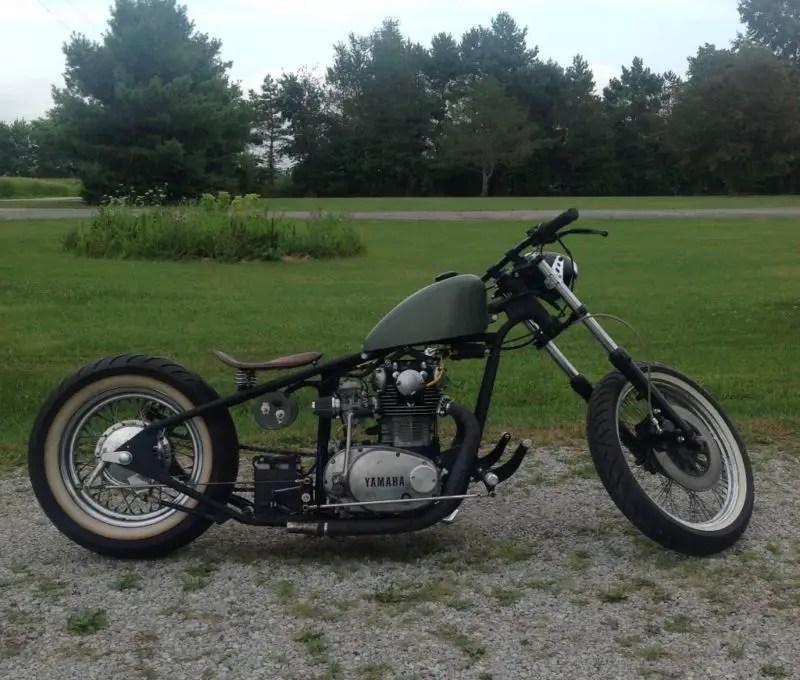 bobber xs650   Jidimotor co