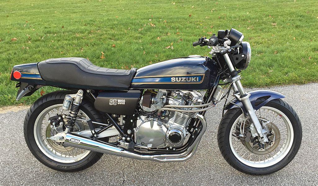 """1978 Suzuki GS1000E """"Left for dead"""""""