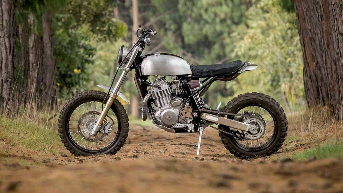 """Suzuki DR650 """"Mamba"""" by Pasquale Motors"""
