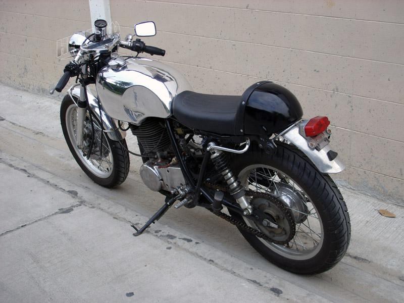 Yamaha SR500 Cafe Racer Seat