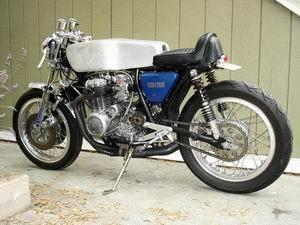 Honda CB400 1975 Cafe Racer 012