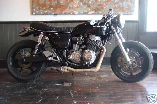 Honda CB750 1974 Cafe Racer Project 01