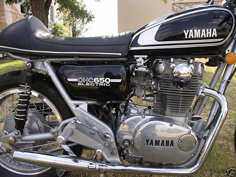 Yamaha XS650 1975 Cafe Racer 03