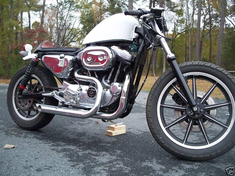 Harley Sportster 1989 Cafe Racer 0011