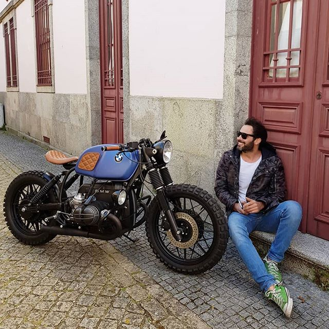 By @banditgarageportugal BMW R100 by Bandit Garage