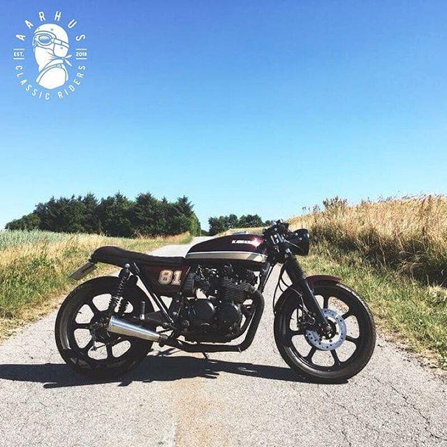 Kawasaki Z650 By @aarhusclassicriders