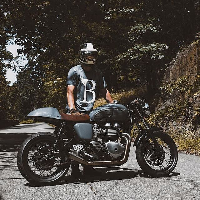 By @thruxtonboys Color matched tee @beliefsupplyco