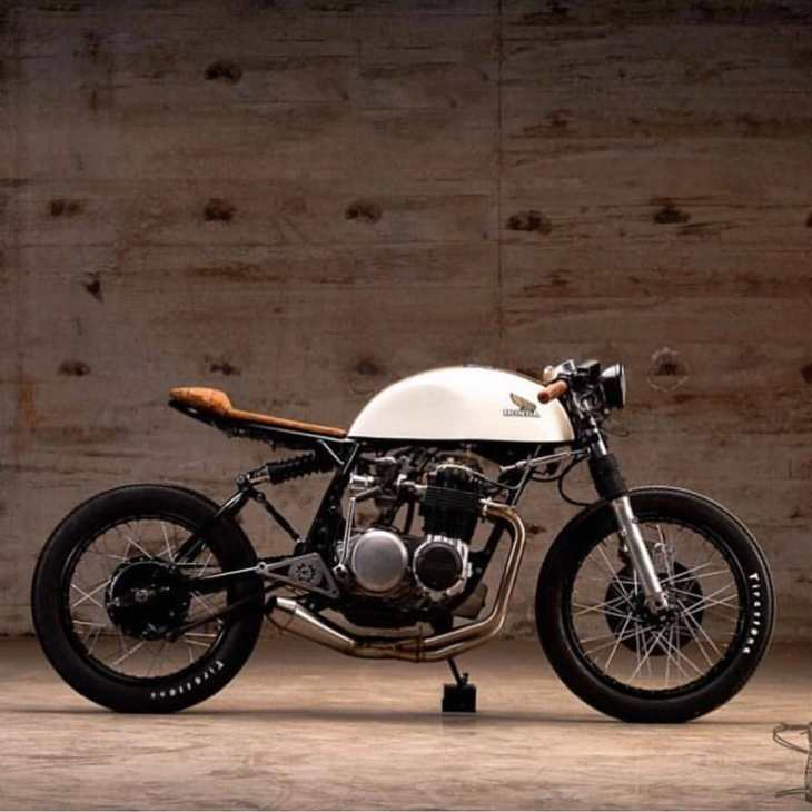 Honda CB500 built by @kinetic_motorcycles