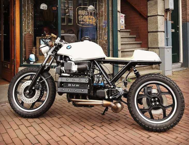 BMW K100 by @rustygoldmotorshop
