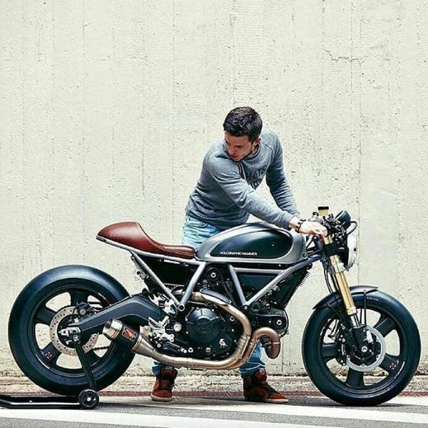 Ducati Scrambler by @established