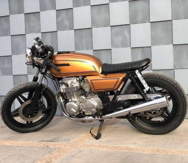 Honda CB 650 by @chavimotor