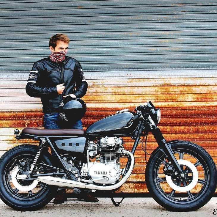 Yamaha XS650 by @etik_motorcycles  #1981