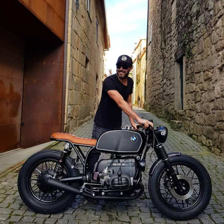 BMW R100 by @banditgarageportugal