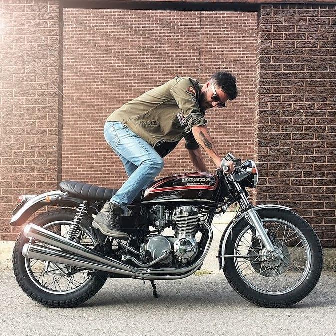 Honda CB550K by @SteeltownJeff