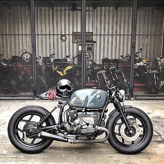 BMW R100 rs by @eakkspeed