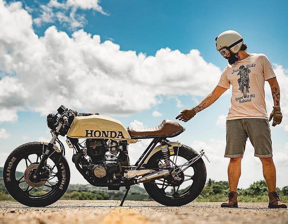 Honda CB450 by @biel_marttins