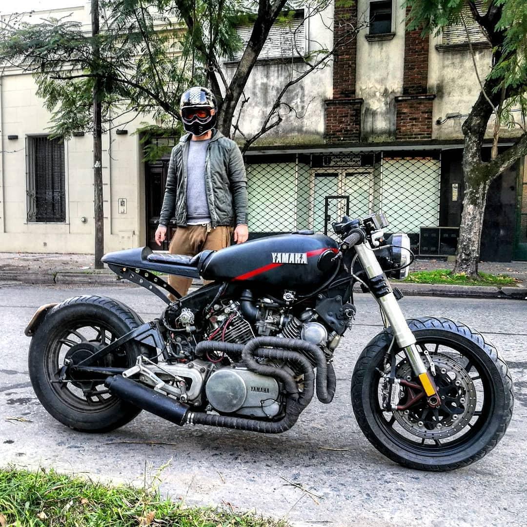 Yamaha XV750 by @mmendiguren