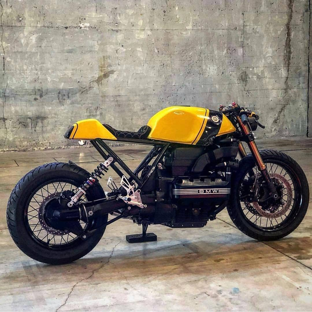 BMW K100 by @72_cycles_performance