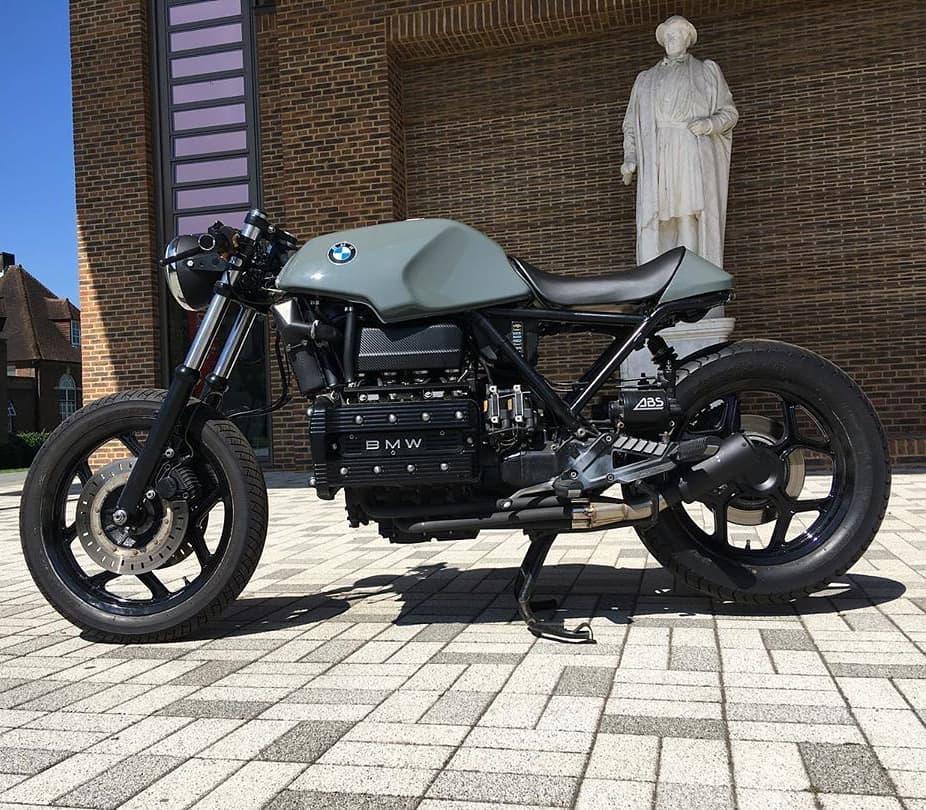 BMW K100 by @alexevzz