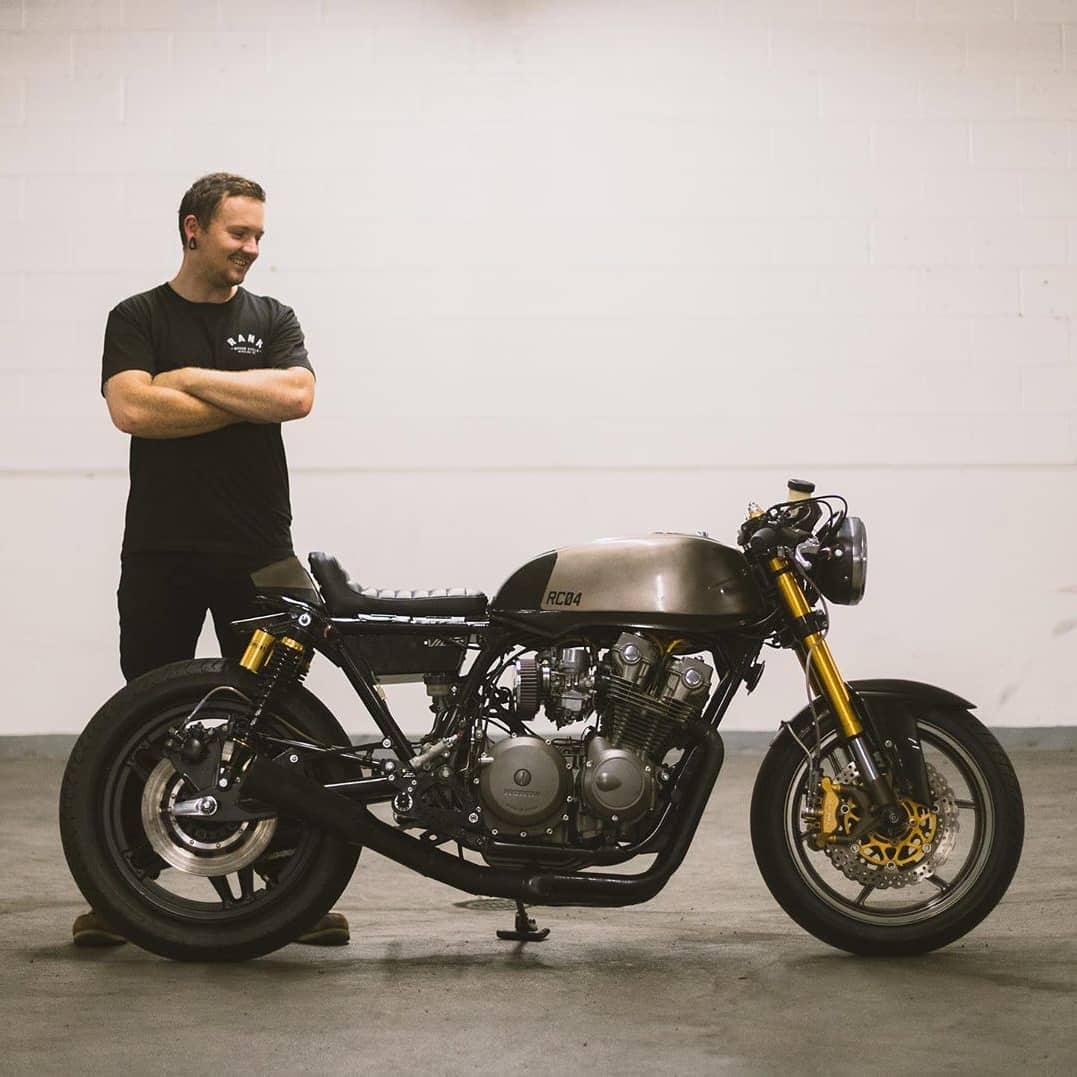 1982 cb750f  Built by @rankspeedcycle  Photo by @thefordographer