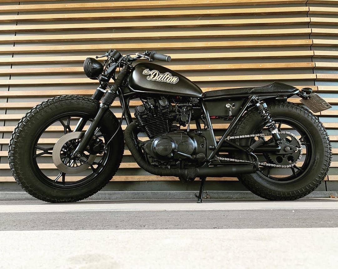 Suzuki GS450 by @dutchvintagemotorcycles