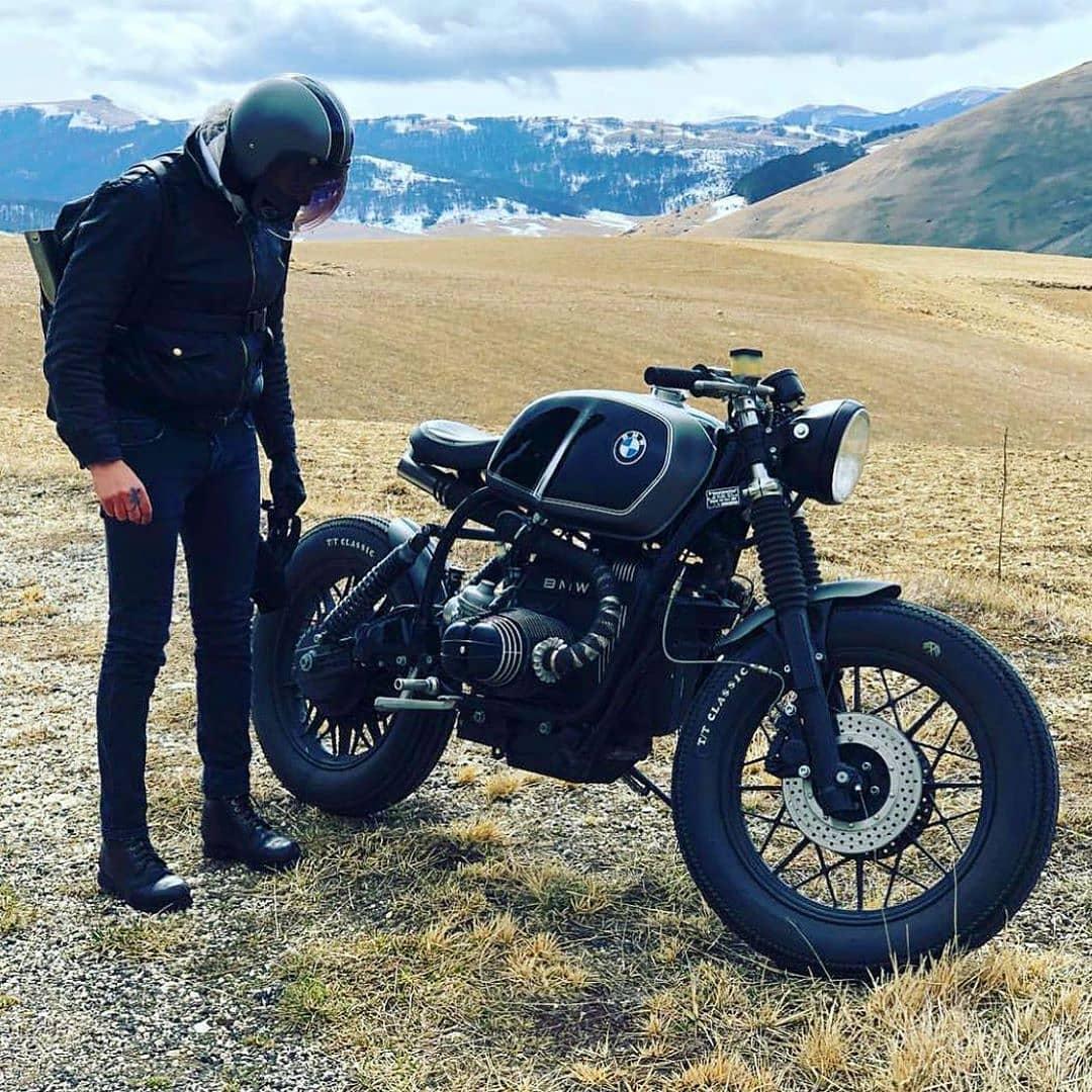 BMW R100 by @ottodrom