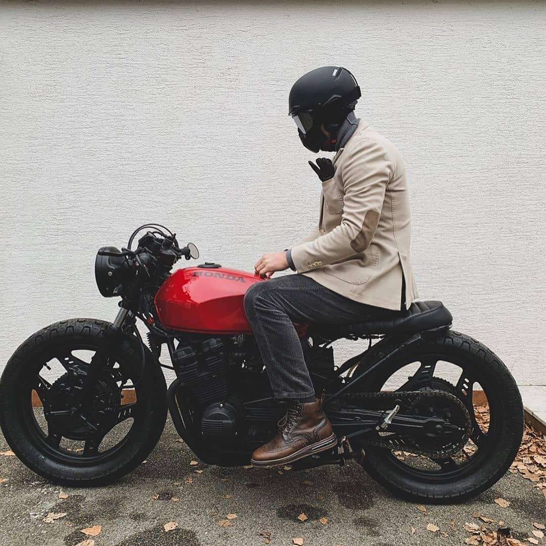 Honda CBX 550 by @thebelgradebiker