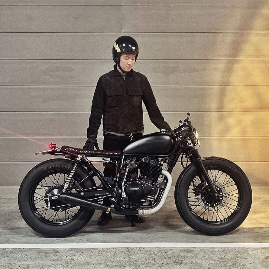 Honda CB400SS by @ryonotrio 🛠️: @minami_motorcycle_tokyo