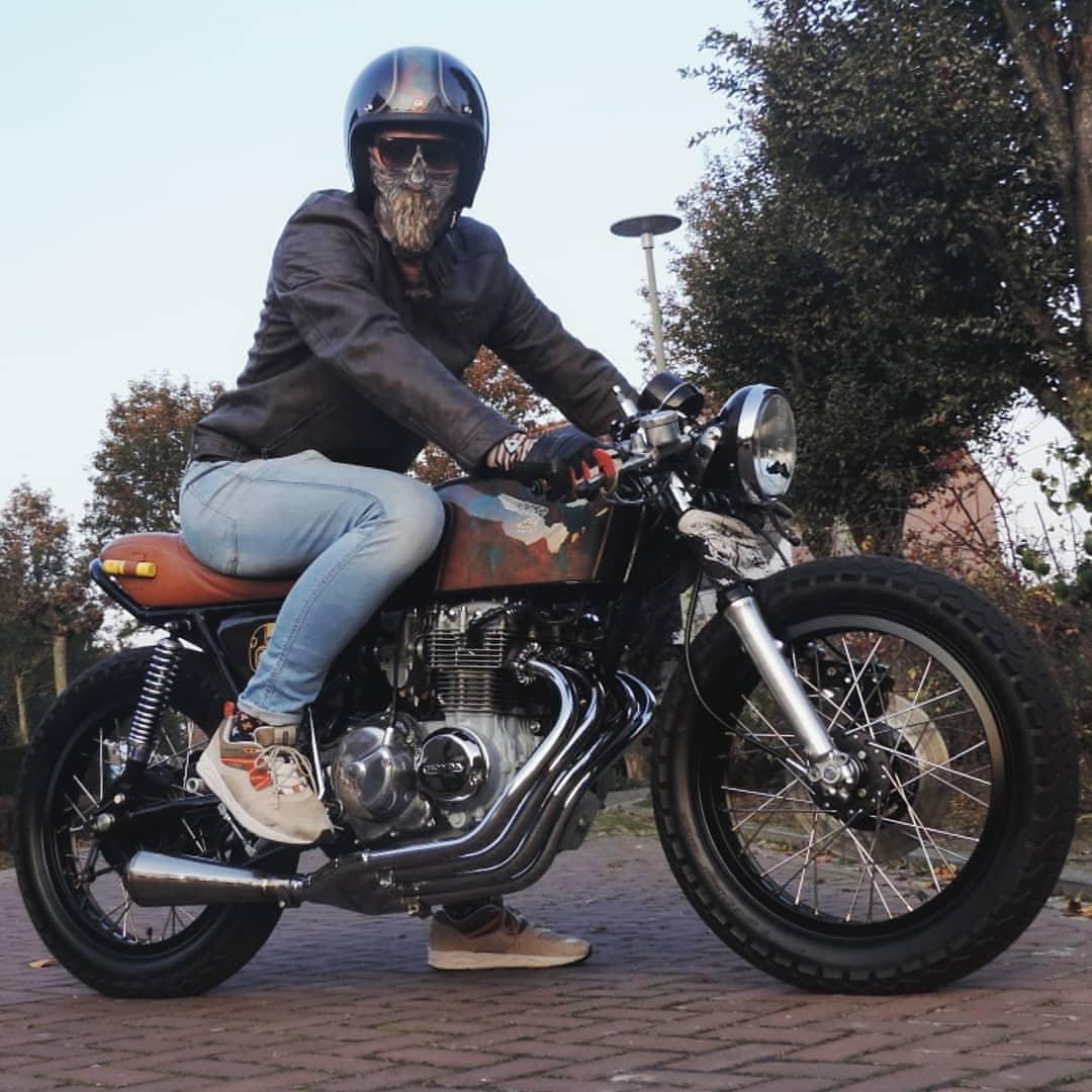 Honda CB400F by @rutgerfvb