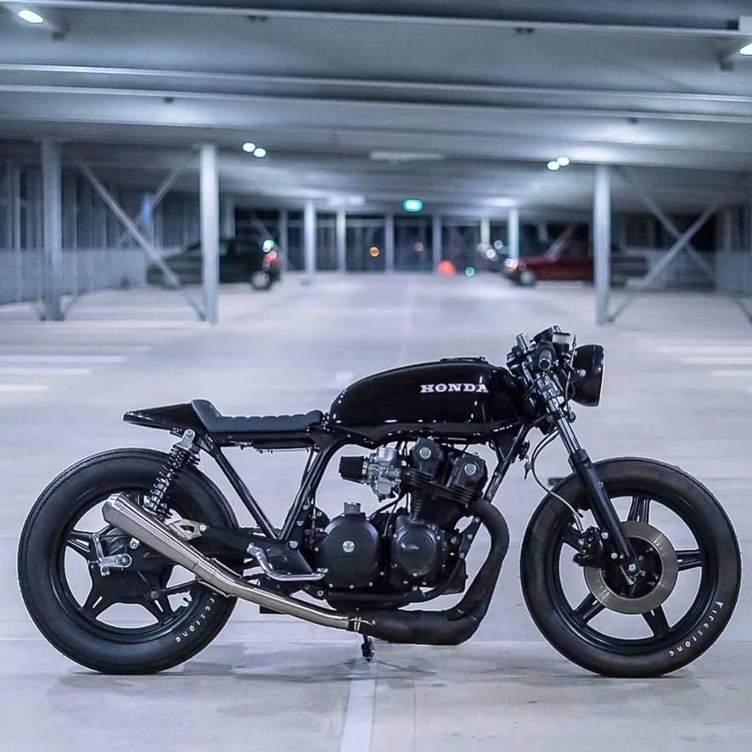 Honda CB750 by @crookedmotorcycles