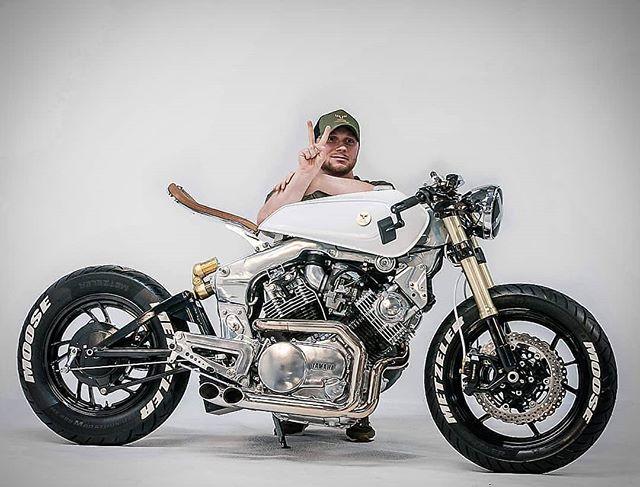 Yamaha XV920 by @moose_motodesign