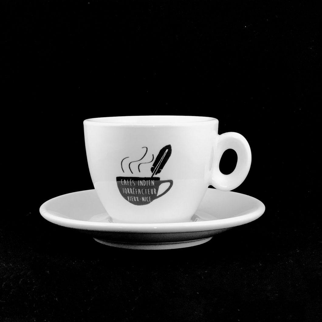 TASSE ESPRESSO CAFES INDIEN