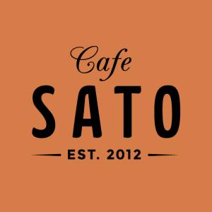 カフェサトのロゴ