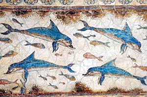 Akrotiri dolphins