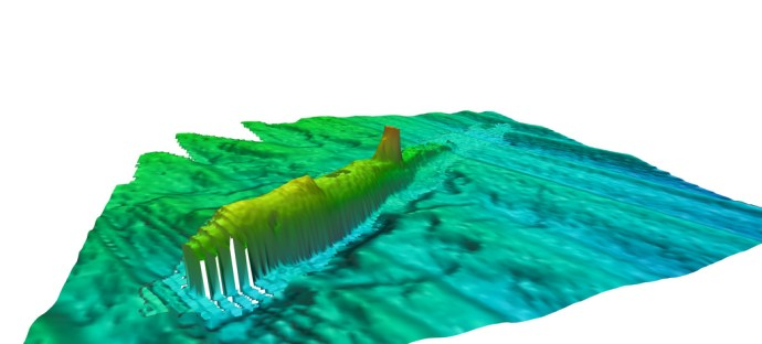 A1 Submarine fledermaus 2 by Wessex Archaeology