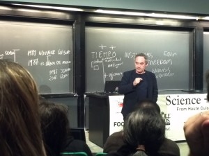 Ferrán Adriá at the Harvard Science & Cooking Lecture Series 2011
