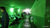 Noryangjin Fish Market tunnel, January 2011