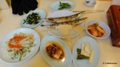 Lunch at Noryangjin Fish Market, January 2011