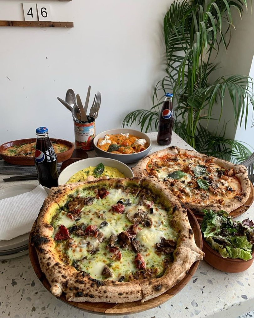 Bianca resturant menu