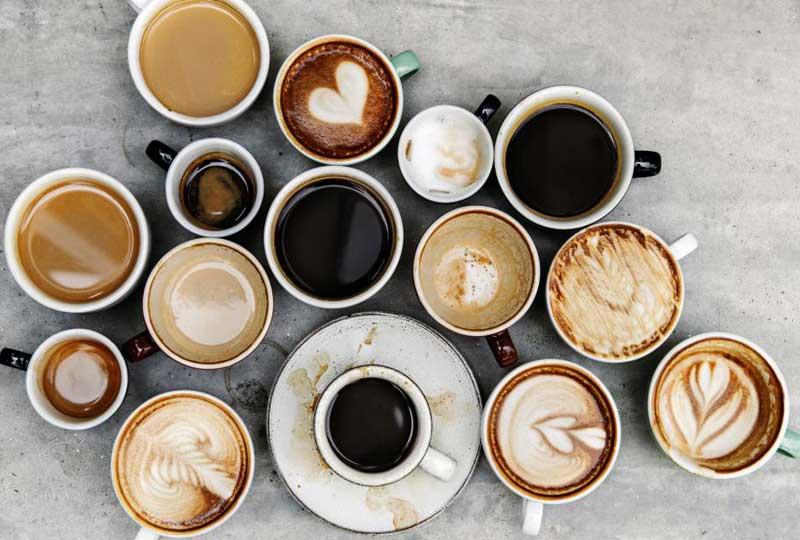 كافيه أنواع القهوة