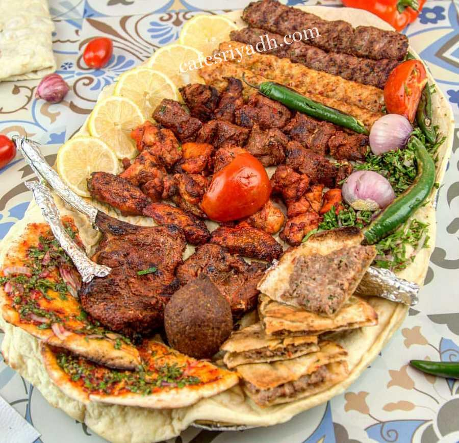 مطعم مشويات زعيم الشام (الأسعار + المنيو + الموقع ) - كافيهات و مطاعم الرياض