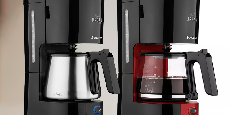 Cadence Urban standard and steel coffee maker