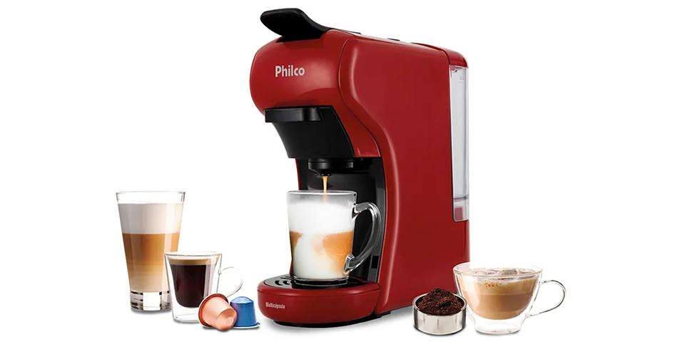 Philco Multicápsulas coffee maker