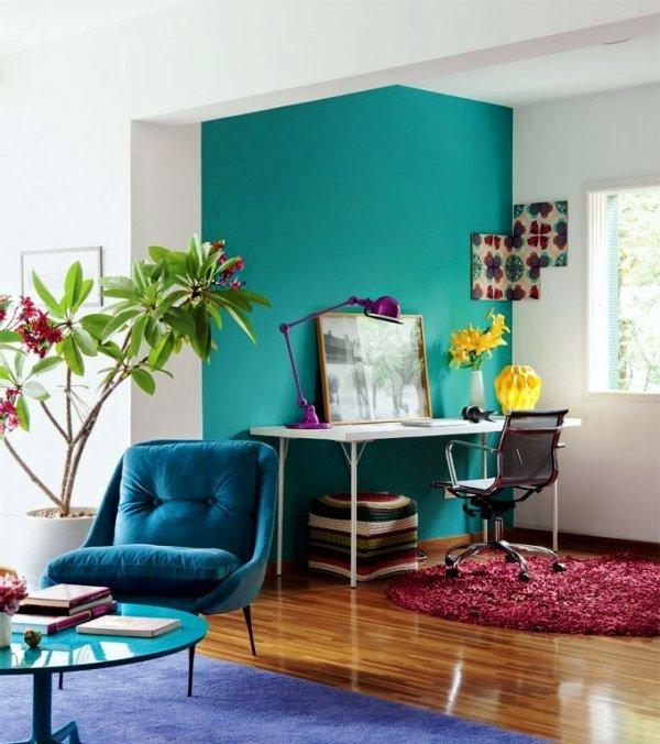 Küçük odalar için renkler