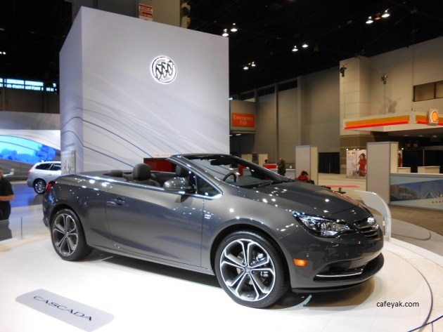 2016 Buick Cascada Front