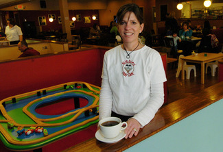 Kathleen Weinberg, founder of Nibbles Play Cafe