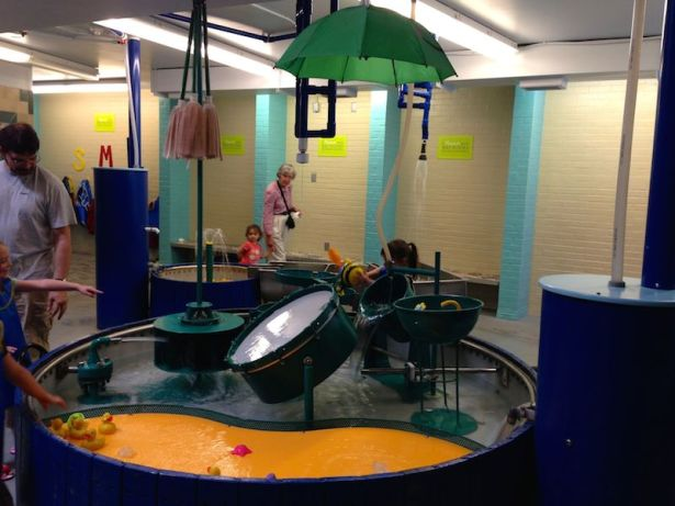 Portland Children's Museum - water area