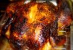 honey citrus roast chicken