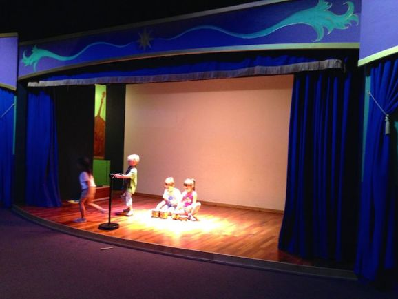 Portland Children's Museum - theatre
